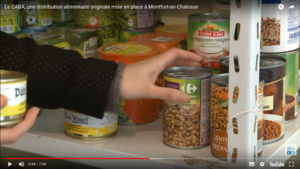 Le CABA, une distribution alimentaire originale